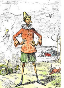 Illustrazione Pinocchio